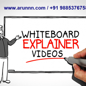 white board explainer videos on arunnn