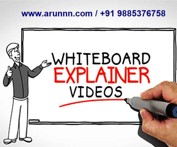 white board explainer videos on arunnn