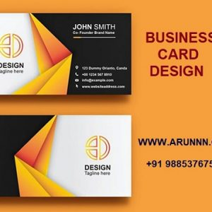 Business Card Design - arunnn