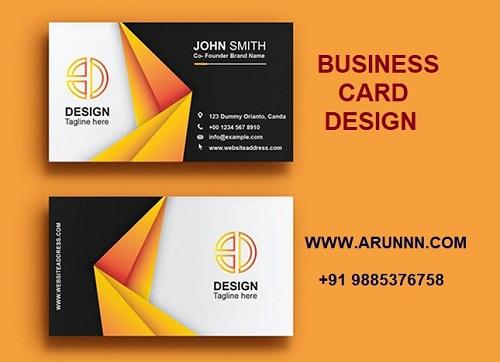 Business Card Design - arunnn